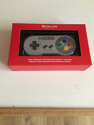 Snes Wireless Controller For Nintendo Switch Online Uk Pal - New And Boxed