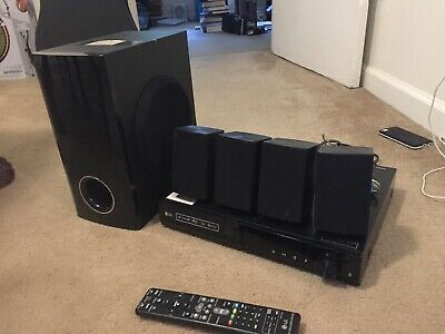 LG 3D Blu-ray Home Theater Surround Sounds System W/ Accessories Model BH5140