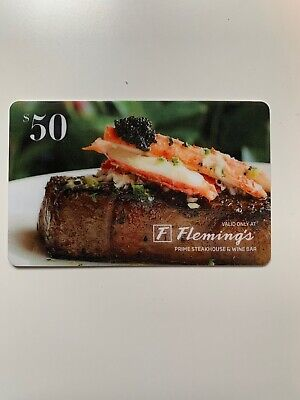Fleming's Gift Card - $50