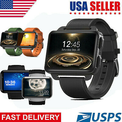 """2.2"""" 3G WiFi Smart Watch GPS GSM SIM Android Phone Heart Rate Monitor Camera"""