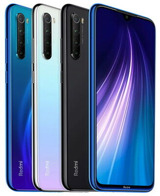 "Xiaomi Redmi Note 8 128GB 4GB RAM (FACTORY UNLOCKED) 6.3"" 48MP Dual Sim (Global)"