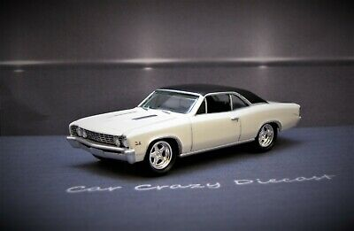 1967 67 Chevy Chevelle SS Muscle Car V8 1/64 scale collectible / diorama model
