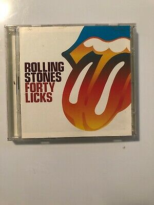 Forty Licks by The Rolling Stones (CD, Feb-2005, 2 Discs, ABKCO Records)