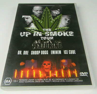 The Up In Smoke Tour DVD Featuring Dr Dre, Eminem, Snoop, Ice Cube