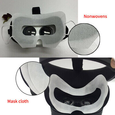 AU 100Pc Disposable Hygiene Eye Mask Patch Face Covers for Oculus Quest VR white