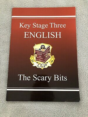 CGP Key Stage Three English Revision Book - The Scary Bits 📚