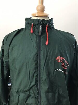 Jaguar F1 Racing Green Rain Jacket Size XL