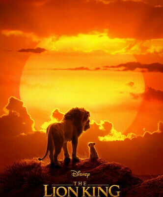 The Lion King 2019 Live Action (Blu-ray, 2019) Blu-ray DISC ONLY No case Disney