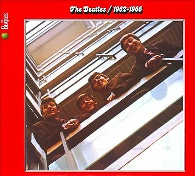 """2CD THE BEATLES """"RED ALBUM 1962 1966 REMASTERED  New sealed greatest hits Beatle"""