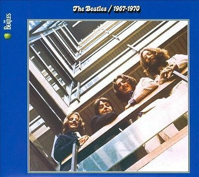 2CD THE BEATLES Blue ALBUM 1967 1970 REMASTERED New sealed Beatle great hits