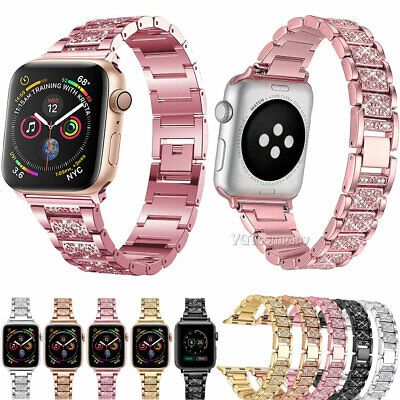 Stainless Steel Wrist iWatch Band Strap for Apple Watch 5 4 3 2 1 40mm 44mm 38mm