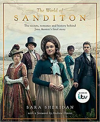 The World of Sanditon: The Official Companion to the ITV Se... New Hardback Book