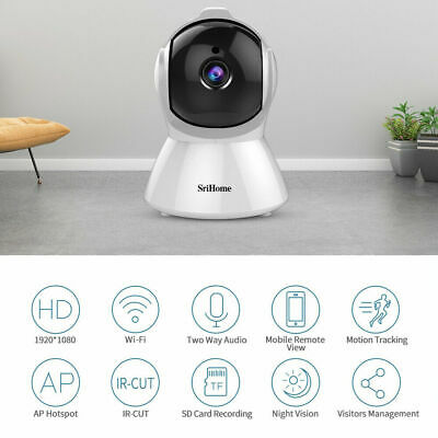 Sricam Srihome SH025 FHD Wifi/IP Cam/ Night Vision/ Motion Detection/ 1080p