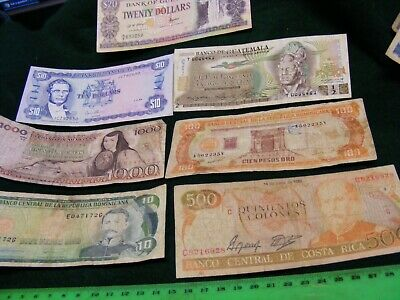 Lot of  13 Brazil used banknotes,including older ones.(12 diff.)