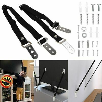 Anti-tip TV Furniture Positioning Straps Anchor Baby Child Safety Proofing Nylon