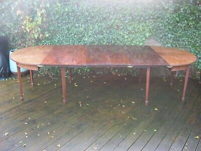 Good George Iii Mahogany Dining Table To Seat 12 Circa 1790