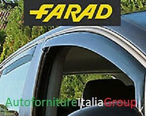 Kit Deflettori Antivento Antiturbo Farad 4Pz Ant + Post Fiat Freemont 11> 2011>