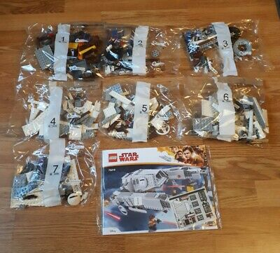 Imperial AT-Hauler Manuals Sticker Set ONLY 75219 Lego NEW Instructions