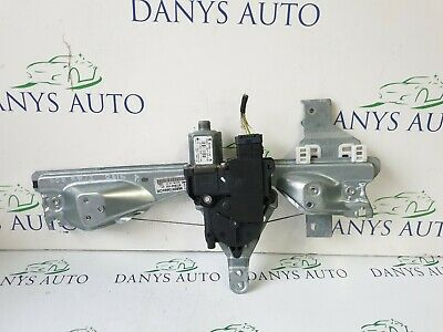 Peugeot 308 Sw 2007-2013 Rear Right Driver Window Regulator And Motor 9680973680