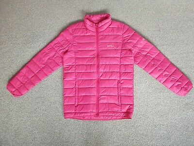 Regatta Girls Pink Quilted Jacket - Age 14 Years
