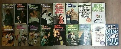 17 'THRILLING' BOOKS by HELEN MACINNES  ** FREE UK POST ** PAPERBACK