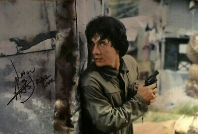 Jackie Chan - Police Story - signed autographed PHOTO 12X8 WITH COA