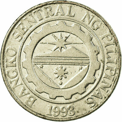 [#707502] Coin, Philippines, Piso, 2010, EF(40-45), Nickel plated steel, KM:269a