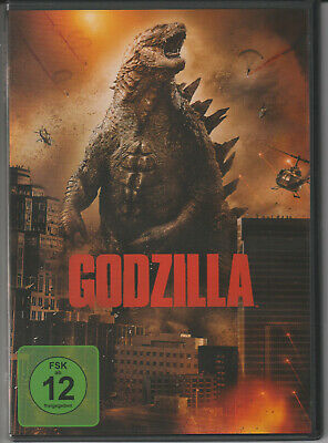Godzilla (2014) DVD Gareth Edwards Gojira Kaiju Science Fiction Monster