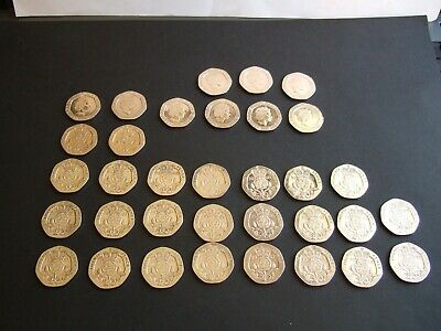 UK 20p Coin Twenty Pence Coins 1982 to 2019 Choose your Year in Coin Sleeve!