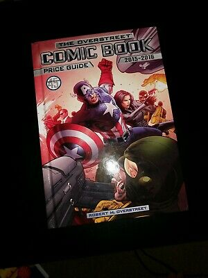 OVERSTREET COMIC BOOK PRICE GUIDE 2015-2016 (45TH EDITION) - Hardcover Light Use