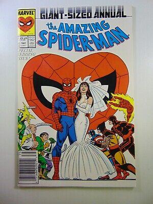The Amazing Spider-man Annual #21 Wedding of Pete and Mary Jane! NM Condition!!