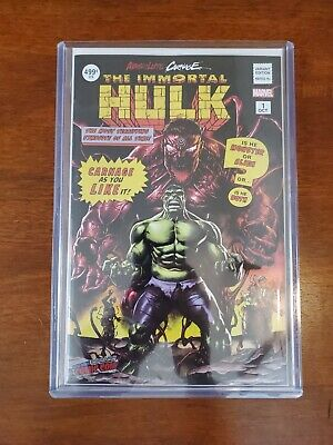 Nycc 2019 Absolute Carnage Immortal Hulk 1 Mico Suayan Variant In Top Loader