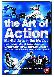 The Art Of Action (DVD, 2003) SEALED NEW UNUSED