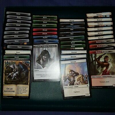 40x TOKEN SET - THrone of Eldraine - MTG - Magic the Gathering - NM