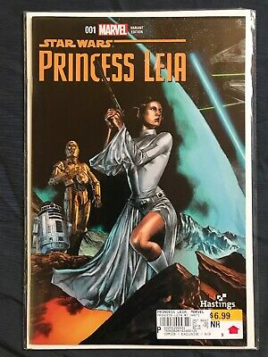STAR WARS PRINCESS LEIA #1~BLANK SKETCH VARIANT~ROGUE ONE CARRIE FISHER~NM