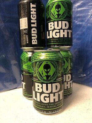 Bud Light 2019 Ltd Alien Edition Beer empty Can Area 51 edition