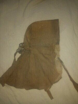 Early Antique Calico Ladies Bonnet Primitive Textile AAFA