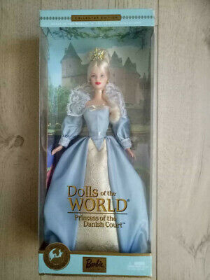 Princess of the Danish Court Barbie Doll (Dolls of the World)