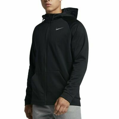 AUTHENTIC NIKE THERMA DRI-FIT PULLOVER BLACK HOODIE 823086-010