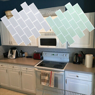3D Self Adhesive Kitchen Wall Tiles Bathroom Mosaic Tile Sticker Peel And Stick