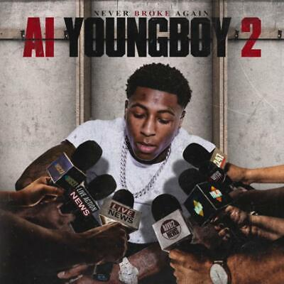 YoungBoy Never Broke Again AI Youngboy 2 (Mixtape) Official PROMO CD Rap Trap