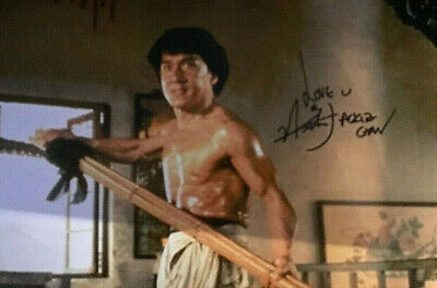 Jackie Chan - signed autographed PHOTO 12X8 WITH COA