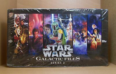 2013 Star Wars Galactic Files series 2 sealed 24 pack Hobby box. (JPW1)