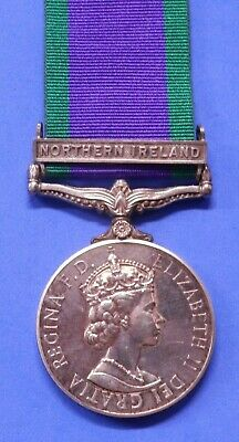 Campaign Service Medal  (GSM 1962) Bar Northern Ireland Army Catering Corps Mint