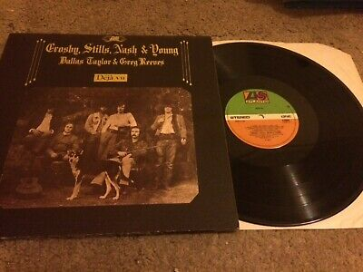 "Crosby Stills Nash & Young Deja Vu Uk Atlantic Reissue 12"" Lp K 50001"