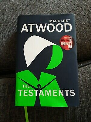 The Testaments Margaret Atwood The Handmaid's Tale sequel hardback book