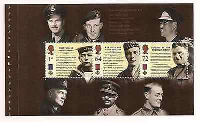 2006 Gb Qe2 Royal Mail Dx37 Prestige Stamp Book Pane Victoria Cross Sg 2660B