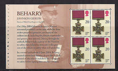 2006 Gb Qe2 Royal Mail Dx37 Prestige Stamp Book Pane Victoria Cross Sg 2666A