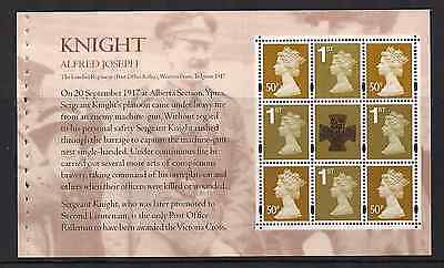 2006 Gb Qe2 Royal Mail Dx37 Prestige Stamp Book Pane Victoria Cross Sg 2651A