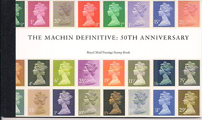 2017 Gb Royal Mail Machin Definitive Anniversary Prestige Stamp Book Dy21
